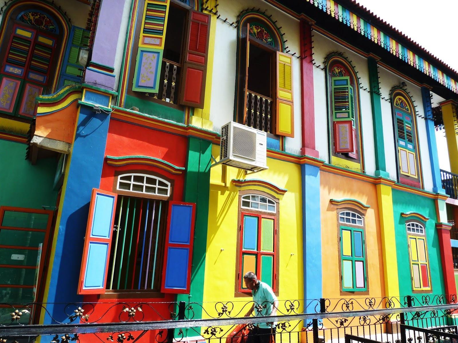 Fachadas coloridas que encantam